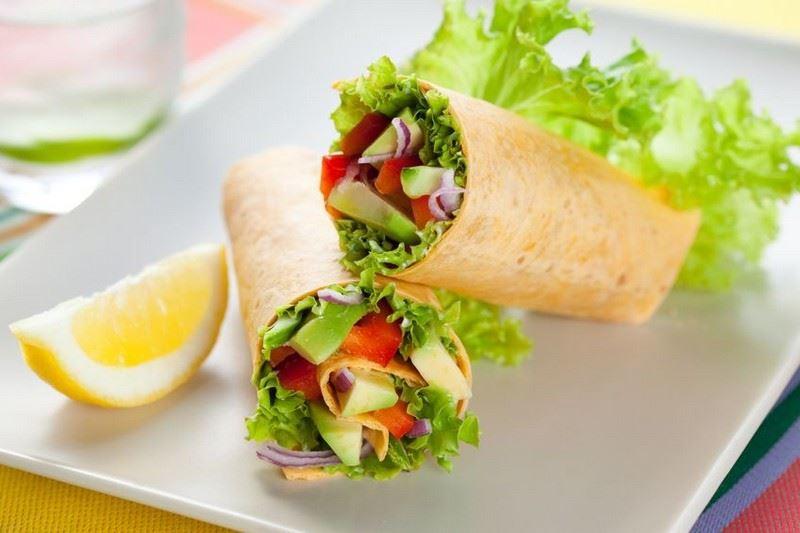 מתכון לטורטייה במילוי ירקות