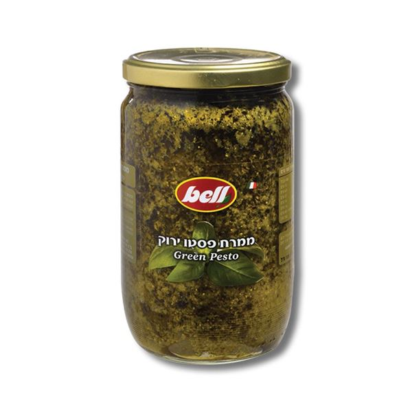 תמונה של ממרח פסטו ירוק לשוק המקצועי