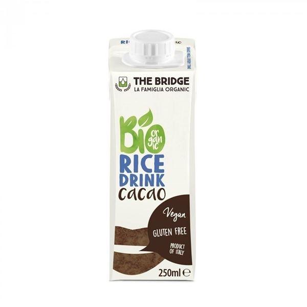 """תמונה של 8019428004073 משקה אורז שוקו 250 מ""""ל (10)"""