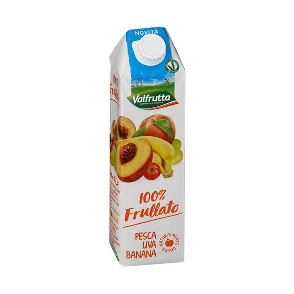 תמונה של 8001440130915 מיץ טבעי אפרסק,ענבים ובננה 1 ליטר