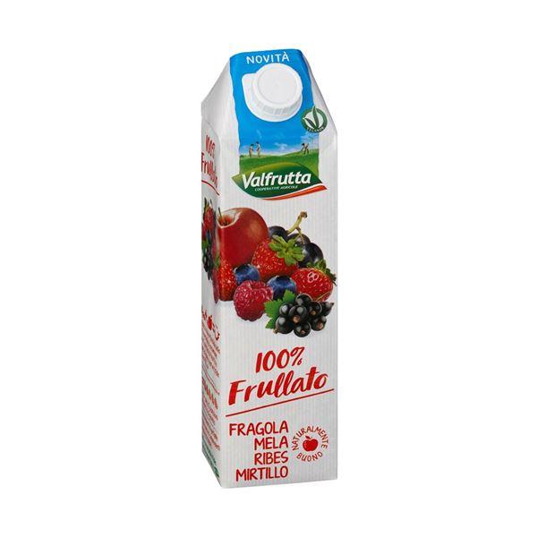 תמונה של 8001440130939 מיץ טבעי תות,תפוח, דומדמניות ואוכמניות 1 ליטר